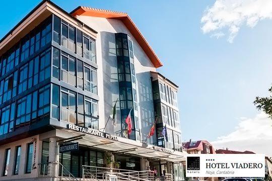 Noche con jacuzzi + mariscada y más en hotel Viadero **** de Noja ¡La escapada perfecta!