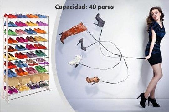 Colectivia productos colectivia organizador de zapatos for Zapatero para 30 pares de zapatos