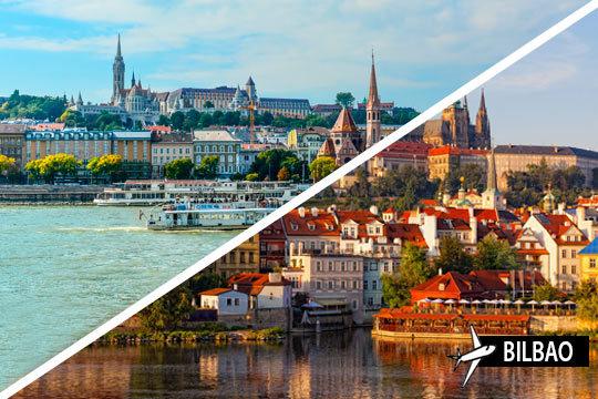 En julio disfruta de un viaje combinado que incluye 3 noches en Budapest y 4 en Praga ¡Con vuelo desde Bilbao y desayunos incluidos!