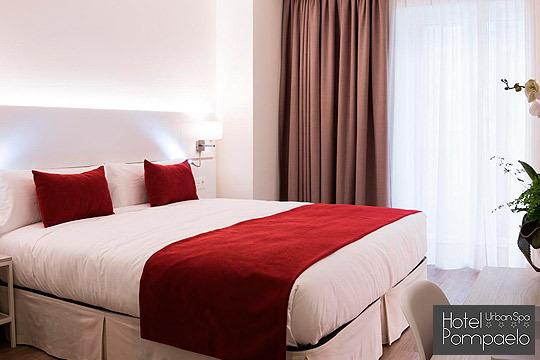 Disfruta de una escapada de lujo a Pamplona con una noche en el hotel Pompaelo Urban Spa **** ¡Inclye desayuno bufé y circuito!