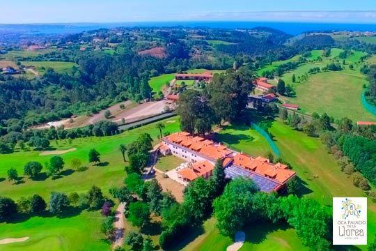 Disfruta de una escapada de lujo a Asturias con 1 noche con desayuno + Circuito Spa en el hotel Oca Palacio de La Llorea Hotel & Spa****