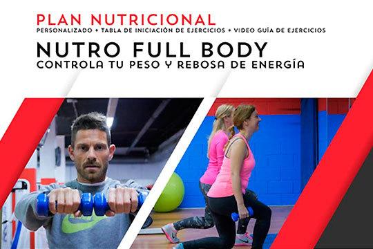 Ponte en forma y luce cuerpazo con el plan nutricional personalizado ¡Incluye tabla de entrenamiento y vídeo guía de ejercicio!