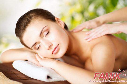 3 o 5 sesiones de masaje a elegir en Famik (Las Arenas) ¡Relájate o moldea tu cuerpo!