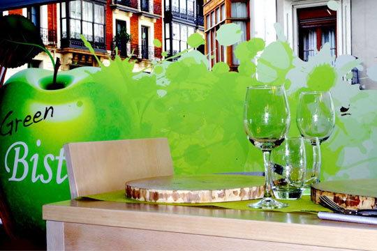 Disfruta de sabores nuevos y vegetarianos en el Green Bistrot de Abando con una ración + pintxo + bebida