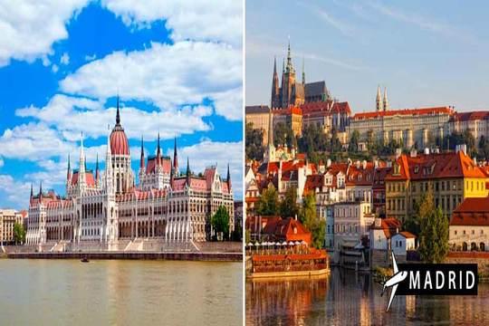 2 de julio desde madrid circuito Budapest - Praga