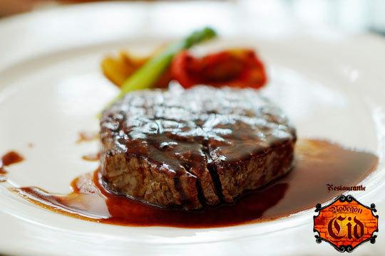 Degusta un menú de lujo en el restaurante Bodegón Cid ¡Incluye entrantes, plato principal, postre y bebida!