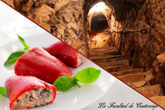 ¡Plan enológico y gastronómico completo! Excelente menú de 6 platos en la Facultad de Castroviejo + Cata de vinos y visita a las Bodegas Lecea