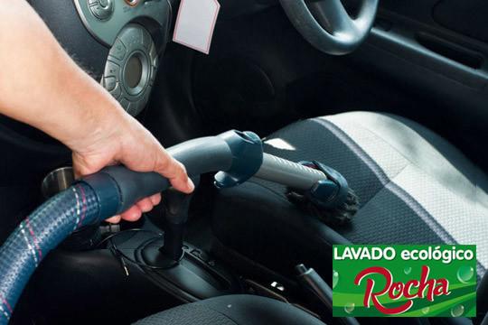 En Rocha dejarán tu coche como nuevo con el lavado interior ¡Añade opción a tapicería!