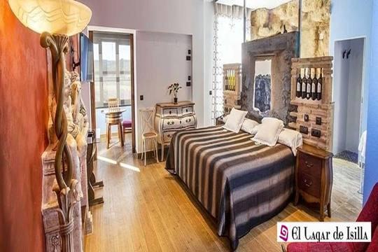 Noche con desayuno y visita a bodega en habitación estándar o junior suite en el hotel Lagar de Isilla, Burgos