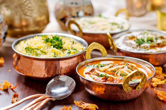 Menú de 4 platos a elegir en el Bombay ¡Cocina de la India para sorprender!