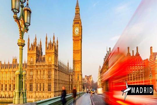 En verano aprovecha el buen tiempo para visitar Londres con vuelo desde Madrid y pasa 4 noches en hotel en régimen de alojamiento y desayuno ¡Las vacaciones que te mereces!