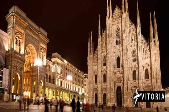 San Prudencio: Vuelo a Milán desde Vitoria + 3 noches con desayuno