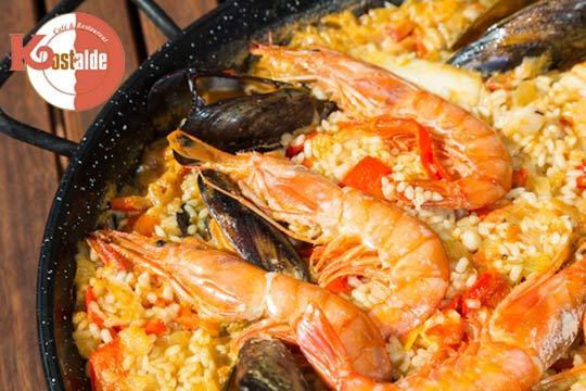 Exquisito menú con sabores catalanes en Kostalde ¡Una experiencia gastronómica única frente a la Playa de La Zurriola!