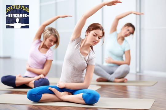 1 mes de clases de Pilates y Yoga en el Gimnasio Rodas por 19€ en vez de 95€ ¡Mueve tu cuerpo a buen ritmo!
