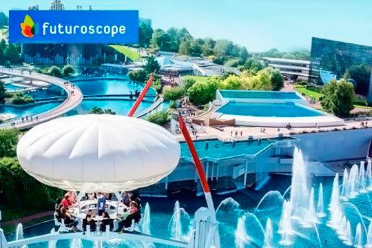 Viaje a Futuroscope + 3 noches en hotel ¡Un viaje para grandes y pequeños!