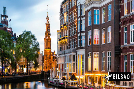Viaje a Ámsterdam con vuelo desde Bilbao + 3 noches en habitación doble en AD ¡Incluye excursión a los pueblos más conocidos!