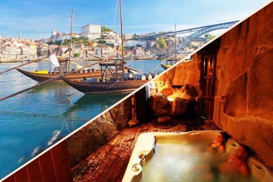 Vive una escapada diferente por el Duero con 2 noches en el centro de Oporto + 2 noches en Arribes + Spa privado en cueva termal