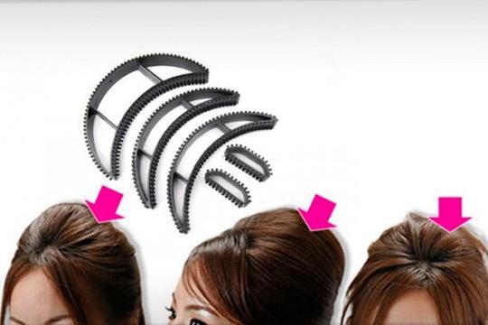 Muy sencillo de montar y colocar dará volumen a tu peinado en cualquier ocasión para que luzca perfecto