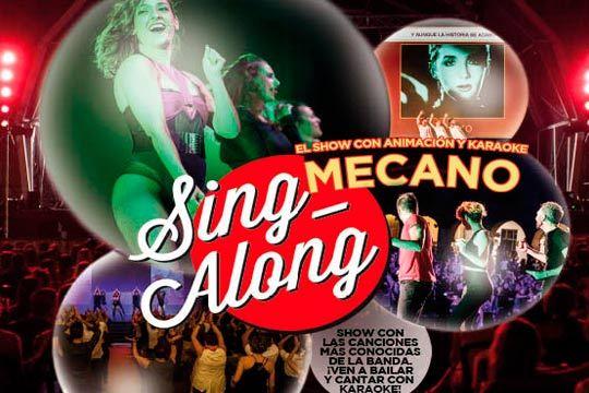 Si te gustaba Mecano este es tu espectáculo ¡El 4 de noviembre en Espacio Las Arenas el show 'Singalong Mecano'!