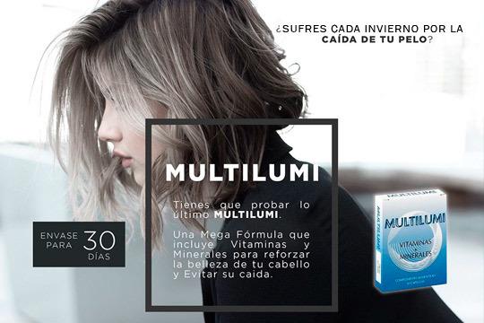 ¿Sufres cada otoño la caída de tu pelo? Prueba lo último de Multimi, incluye vitaminas y minerales para reforzar tu cabello y evitar su caída