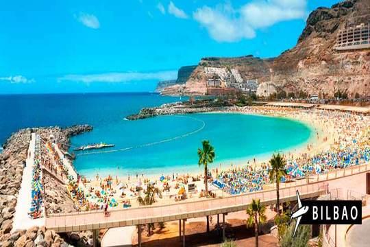 ¡Últimas plazas! Vuelo a Gran Canaria de Bilbao + 7 noches en apto.