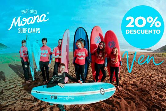 ¡Este verano aprende por fin a coger olas! En Moana Surf and Skate Hostel disfrutarás de 8 días de clases de surf con clases de inglés para niños