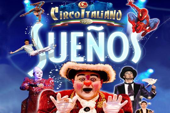 No te pierdas el increíble espectáculo 'Sueños' de Il Circo Italiano durante las fiestas de La Blanca ¡Un nuevo show con más magia que hará las delicias de pequeños y mayores!