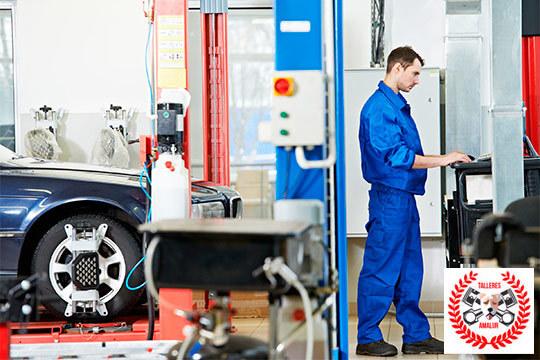 Este verano viaja seguro tras la revisión completa de tu coche ¡Añade cambio de aceite y filtro de aceite y aire!