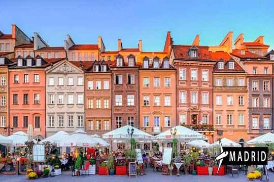 Enero a Varsovia ¡Vuelo de Madrid + 3 noches con desayunos!