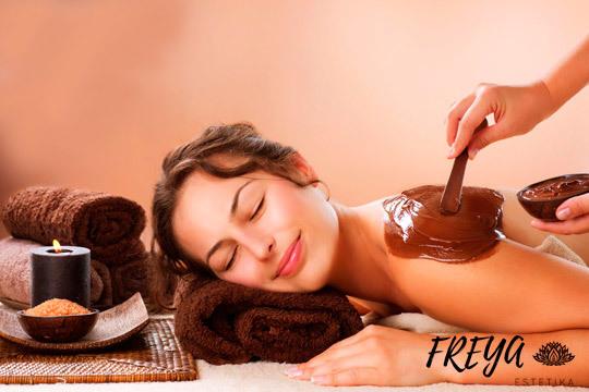 Chocolaterapia facial o corporal en Freya Estetika ¡Múltiples beneficios!