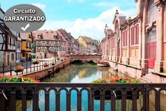 Disfruta de un viaje único con este circuito de 8 días por los mejores rincones de Alsacia ¡Salidas de País Vasco, Logroño y Pamplona!