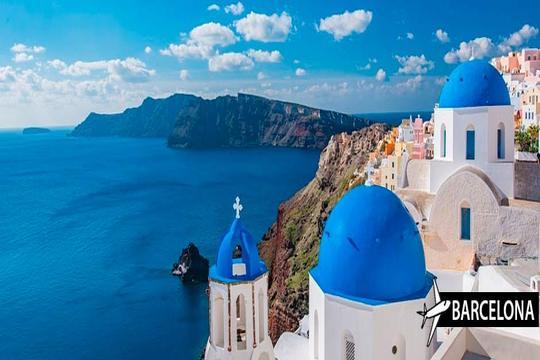 Septiembre a Santorini ¡Vuelo + 8 noches en estudio!