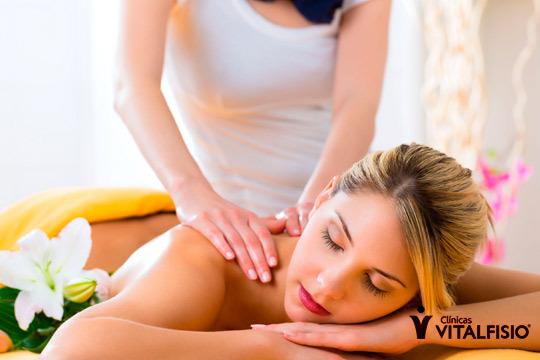 Elige entre 1 o 3 masajes craneo-cervicales o reflexología podal en la Clínica Vitalfisio ¡Reduce la tensión acumulada en las zonas más comunes!