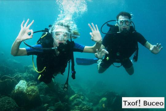 Sumérgete en el mundo del submarinismo con el curso PADI Open Water Diver por 299€ con Txof! Buceo