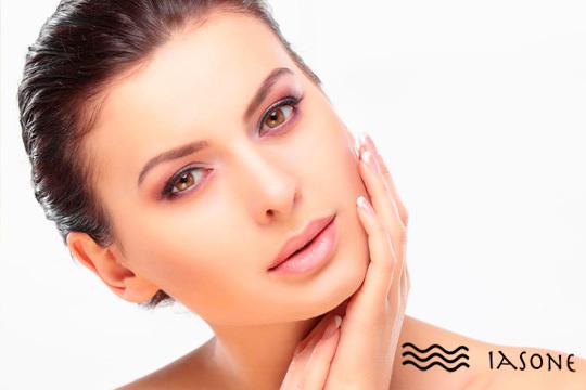 En el centro de estética Iasone te verás guapísima después de una completa sesión de belleza con limpieza facial + manicura + diseño de cejas + depilación labio