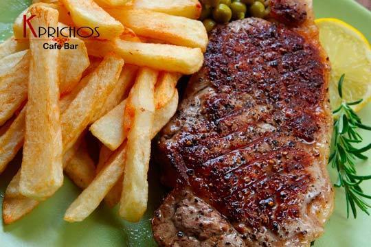 Entrantes, plato principal, postre y bebida en Kprichos ¡Un exquisito menú para el fin de semana!