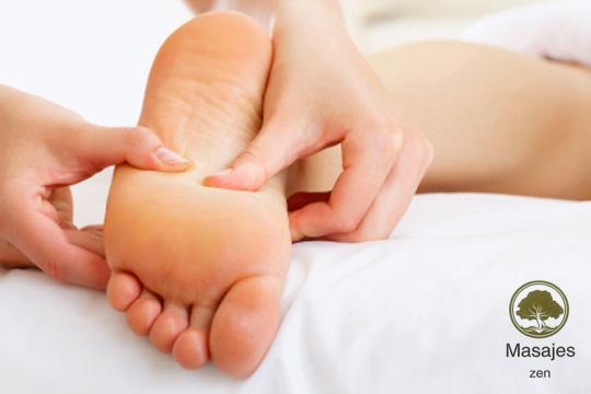 Cuida tus pies y relájate al máximo con 1 o 3 sesiones de masaje o reflexología podal en el centro Masajes Zen