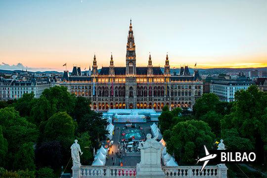 Vuelo directo de Bilbao + estancia de 3 noches con desayunos incluidos ¡Descubre la belleza de Viena!