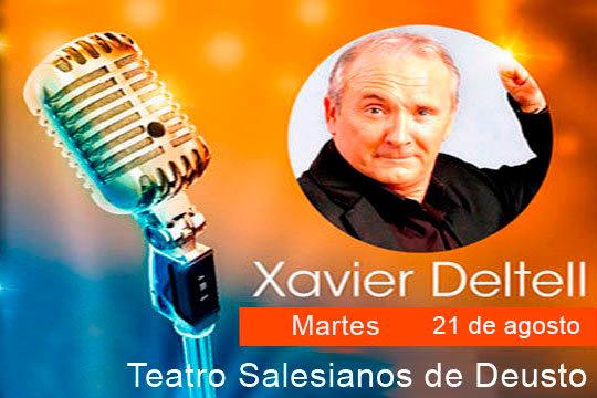 Disfruta de una noche de risas en el Teatro del Colegio Salesianos de Deusto con el monólogo de Xavier Deltell ¡Un espectáculo para los amantes del buen humor!