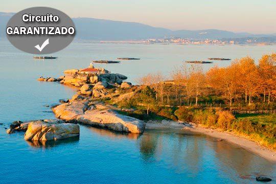 Descubre las Rías Bajas del 5 al 10 de diciembre con un interesante circuito con excursiones en Galicia