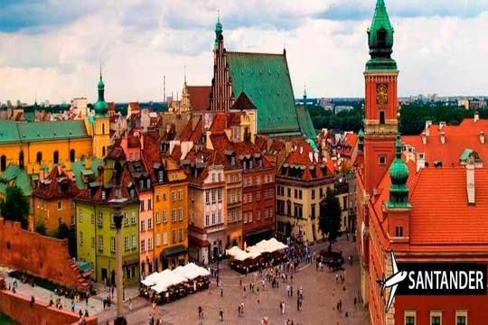 En mayo y junio date un capricho y visita Varsovia  con vuelo desde Santander + 3 noches en apartamento ¡Te encantará!