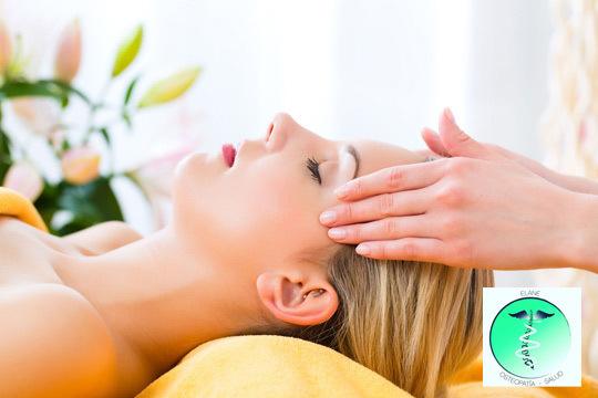Siéntete bien y mejora tu bienestar con una sesión de masaje relajante finalizado con osteopatía craneal