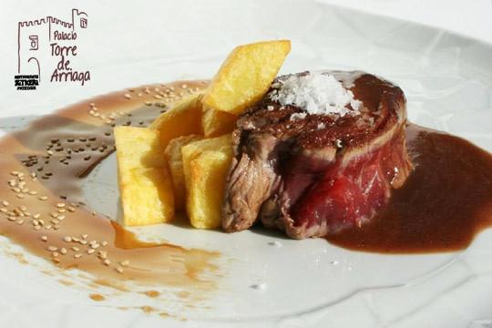 Menú degustación de Invierno de 6 platos en el Palacio Torre de Arriaga