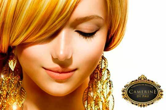 Tratamiento facial con oro y ácido hialurónico, presoterapia, termoestimulación, manicura... ¡Perfecta en cualquier ocasión!