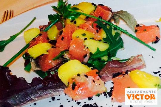 Nuevo menú degustación en el famoso Rest. Víctor de la Plaza Nueva