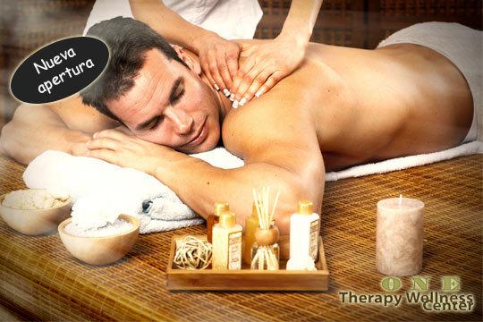 Elige entre 1 o 3 masajes relajantes con aromaterapia en One Wellness Center ¡Nueva apertura!