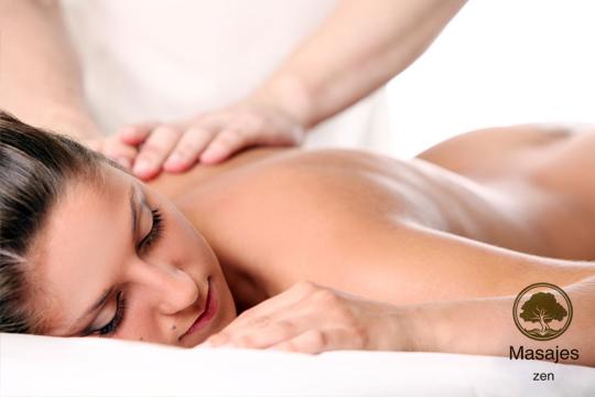 Relájate en el centro Masajes Zen con una sesión de 30 minutos de masaje relajante ¡Relax total!