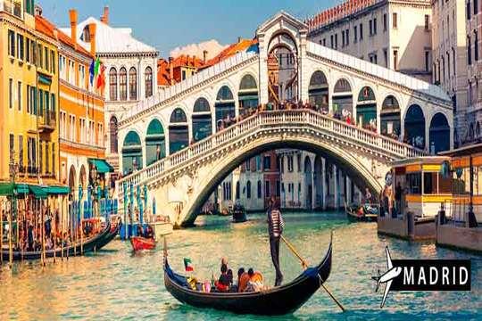 Otoño a Venecia desde Madrid + 3 noches de hotel con desayuno