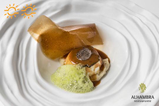 Menú premium con maridaje en el Restaurante Alhambra