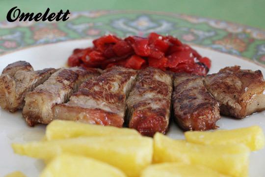 Sabroso menú con 4 entrantes, segundo y postre en el Restaurante Omelett ¡Con bebida, café o infusión y chupito incluido!
